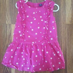 Baby Gap Star Print Drop Waist Dress